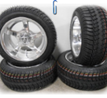 Fairway-Alloys-Rallye-Golf-Wheels-12-205x30-12-Tires-EZ-GOClub-Car-4-0